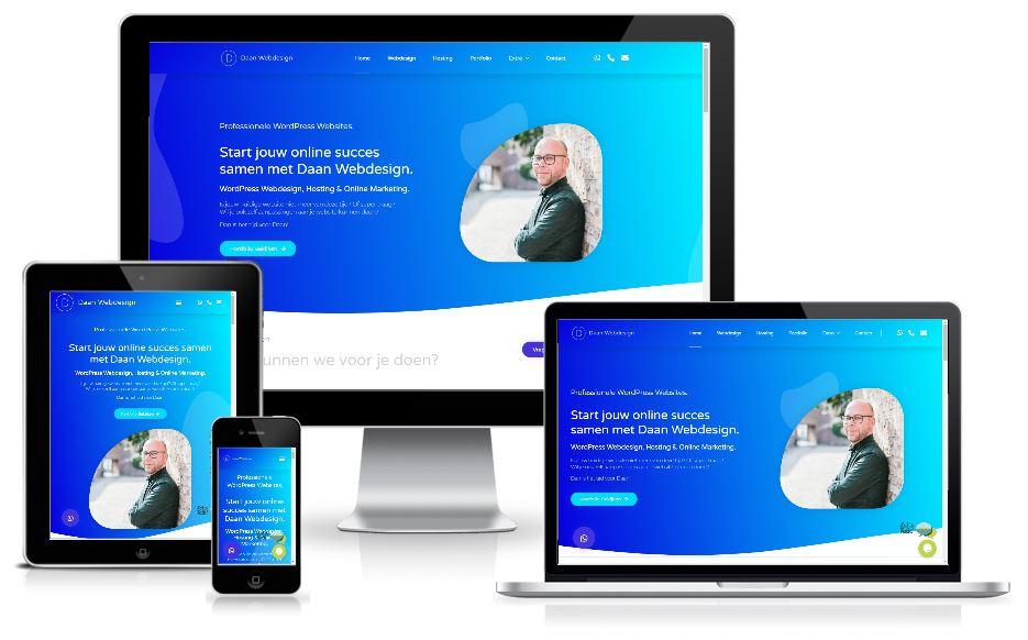 nieuwe website daan webdesign