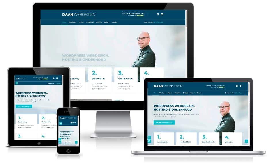 daan webdesign website